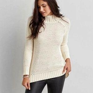 American Eagle | Cream Cabin Jegging Sweater | S